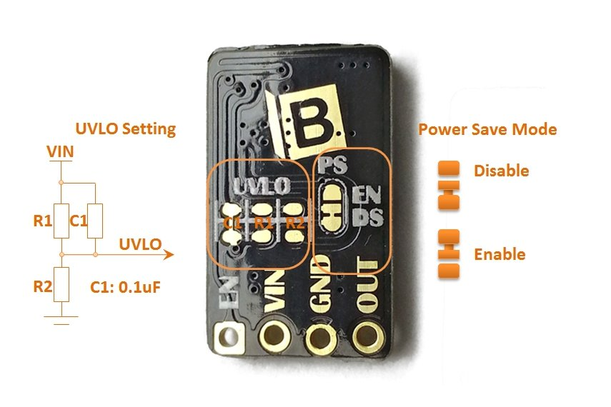 TPS61200 Power Step-Up Converter Booster V1