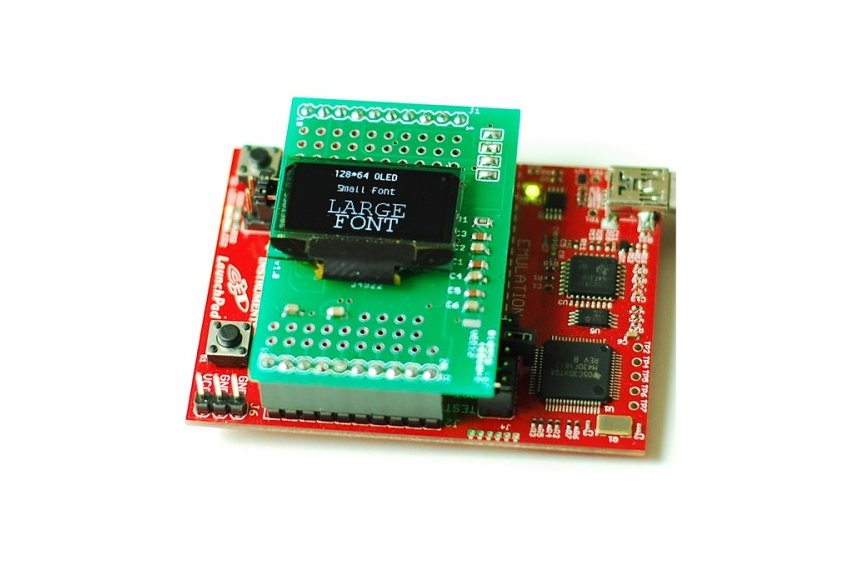 The Terminal - OLED Breakout Board/MSP430 Launchpad BoosterPack