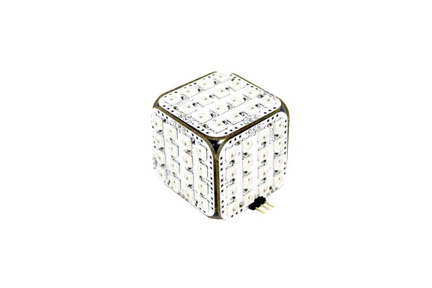 ws2812b led cube 96 for arduino colorful magic from alexchu on tindie