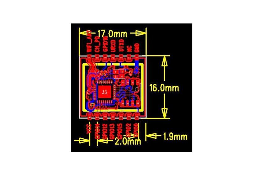 ESP8266 ESP-08 Module