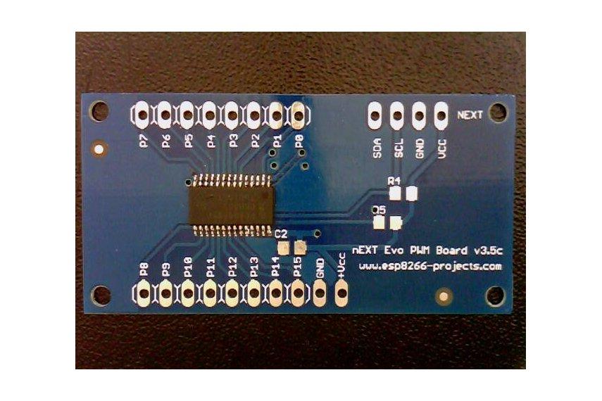 16Channel 12bit PWM I²C  LED/Servo Driver- PCA9685