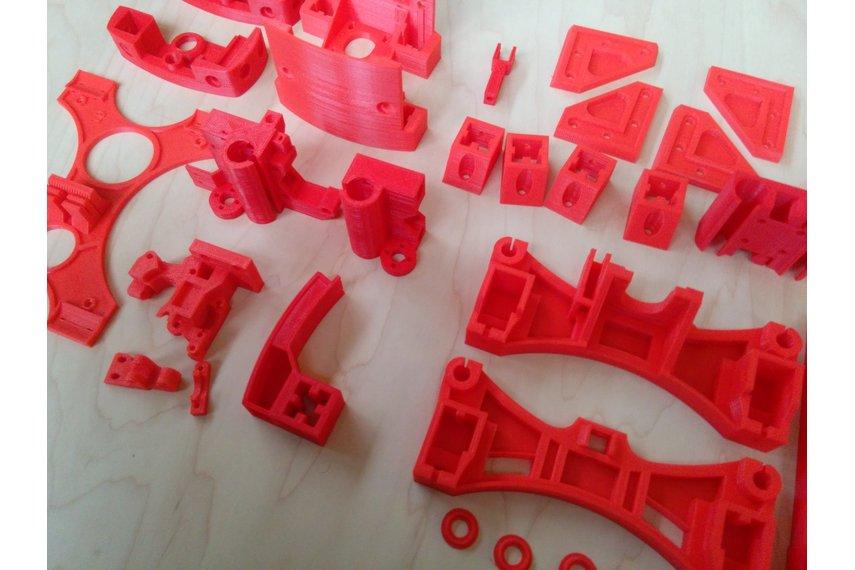 Reprap Wilson II plastic parts kit