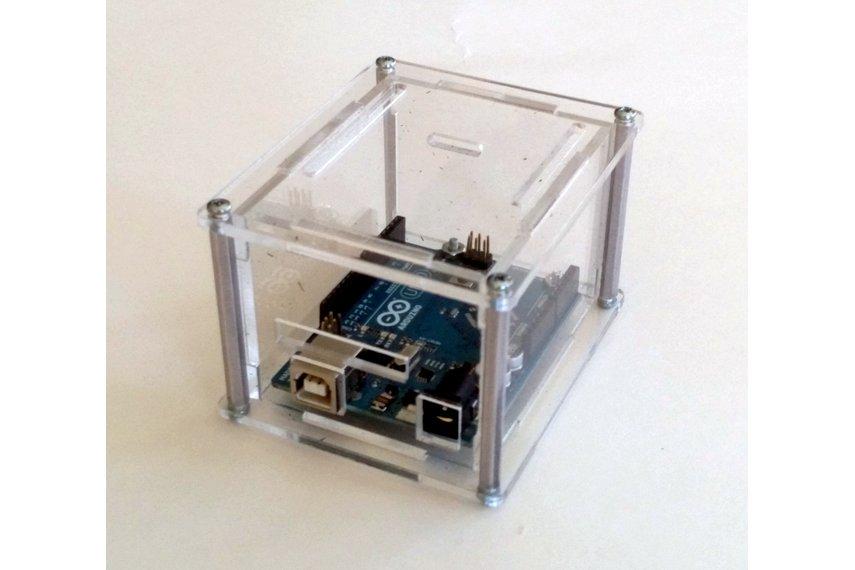 """Arduino Uno Project Enclosure """"Duo II"""""""