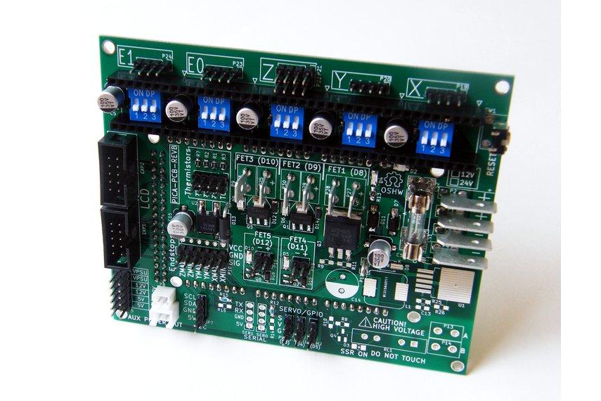 PICA Reprap Arduino Mega Shield