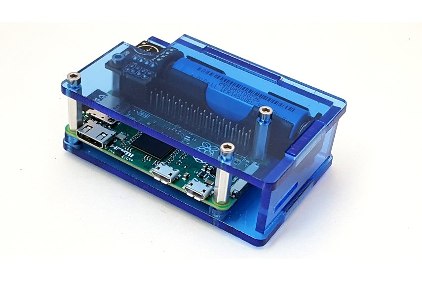 Enclosure for Raspberry Pi Zero & LiFePO4wered/Pi