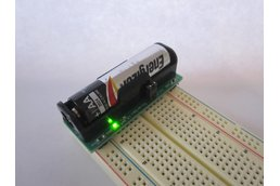 BooSTick - 3.3/5 V breadboard power from one AA