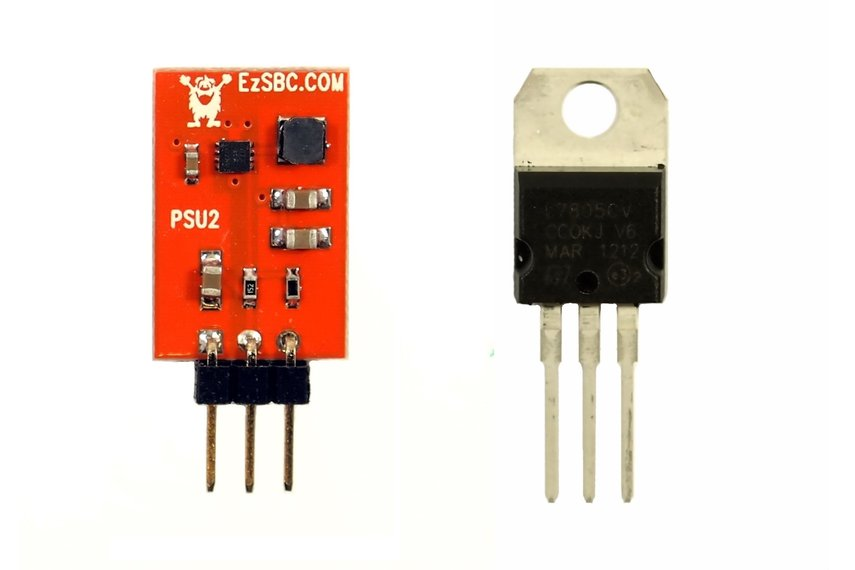 3.3V 1A Switch-Mode Voltage Regulator