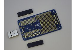 Prototype PCB for Particle Photon
