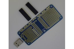 Prototype PCB for Particle Photon (Wide)