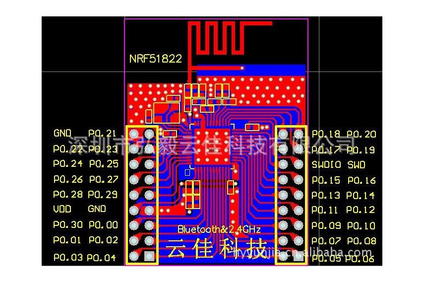 nRF51 E3 BO