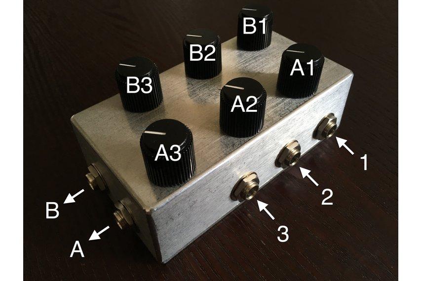 3x2 Matrix Mixer