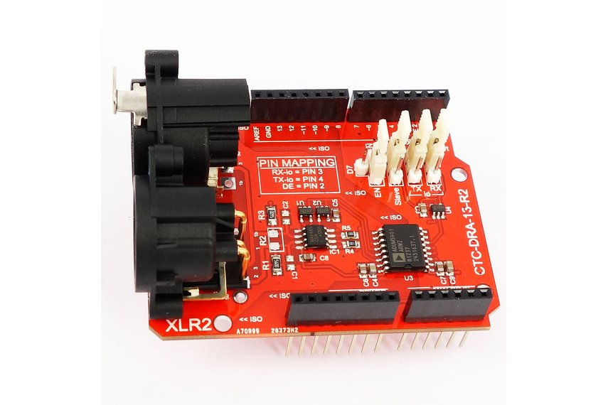 2.5kV Isolated DMX 512 Shield for Arduino - R2
