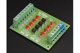 4Bit 24V to 5V Optocoupler Isolator(8042)