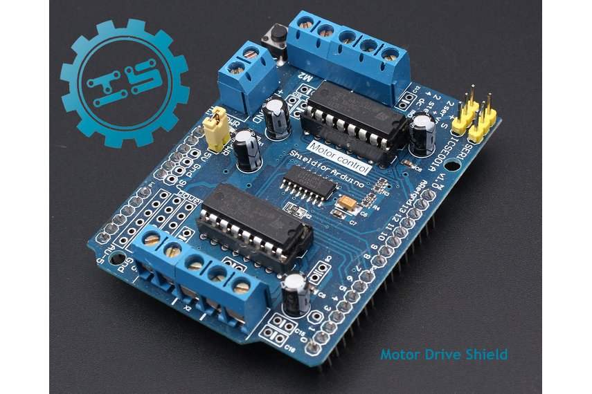 L293d Motor Drive Shield 3256 From Icstation On Tindie
