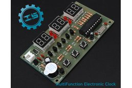 DIY MultiFunction Electronic Clock Suite(5491)