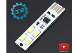 USB Touch Control Dimmer Lamp LED Light (3856)