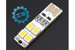 Double-Sided USB LED Pure White Light(4948)