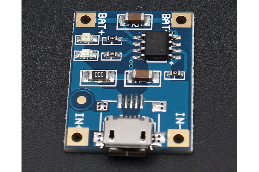 MICRO USB 1A Battery Charging Module(5678)