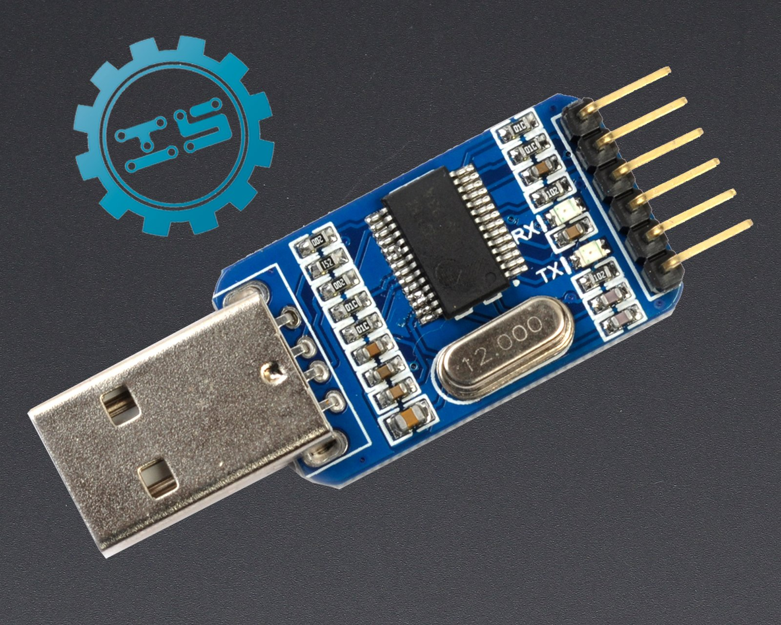 Usb adapter for arduino from icstation on tindie