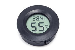 Round Probe Temperature Humidity Meter LCD(9081)