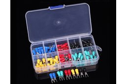 100pcs U-Type Cold Terminal Kits 5-Colors(11942)