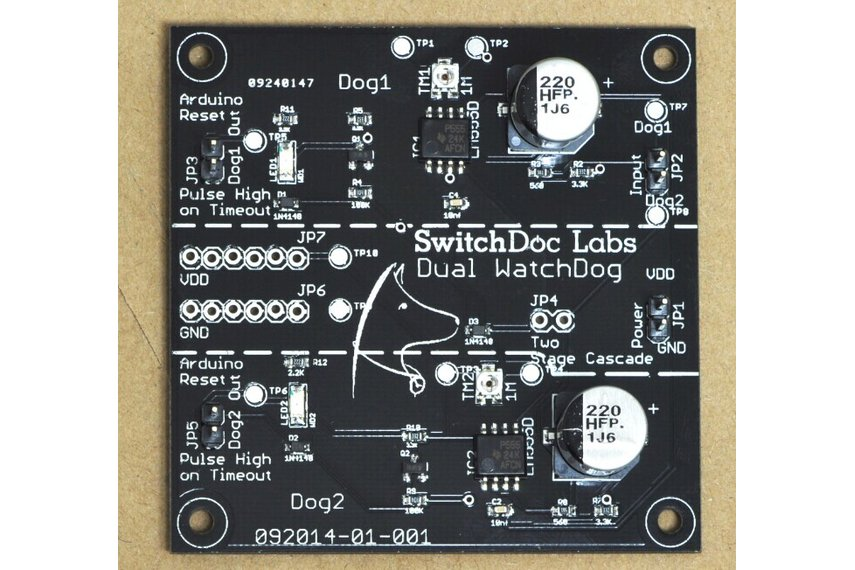Switchdoc labs dual watchdog timer from switchdoclabs on