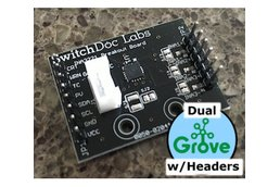 SwitchDoc  Dual Grove/Pin INA3221 Breakout Board