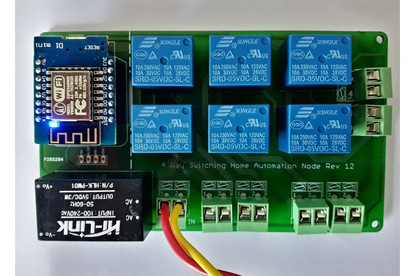 SwitchiFy - Wifi Home Automation Board (Used)