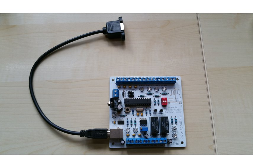 Phoenix USB CNC Controller with PWM Output