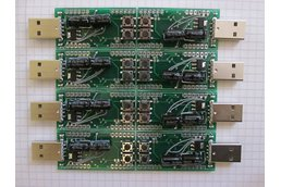 USB AVR Stick PROTOTYPE with Atmel ATxmega128A3U