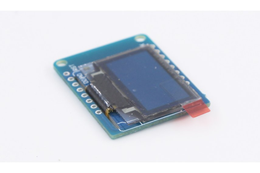 Oled shield for espea from aprbrother on tindie
