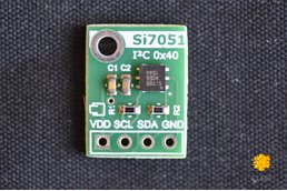 Si7051 ±0.1°C (max) Digital Temperature Sensor