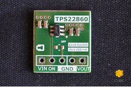 TPS22860 Ultra-Low Leakage Load Switch