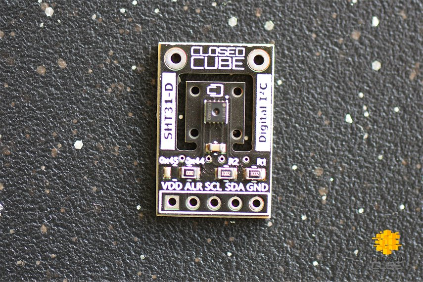 SHT31-D (Digital) Humidity & Temperature Sensor