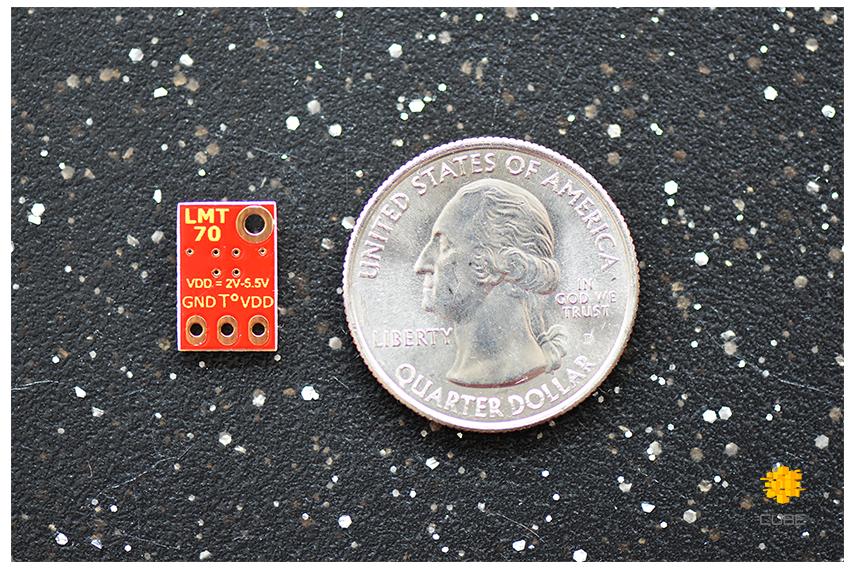 LMT70  ±0.1°C Precision Analog Temperature Sensor