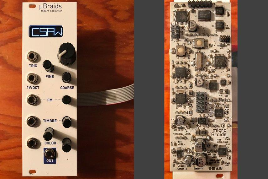uBraids (microBraids) 8HP Eurorack Module