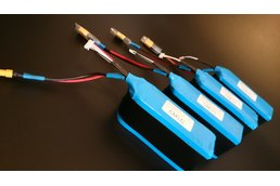 6S4P 40A li-ion battery pack for drones