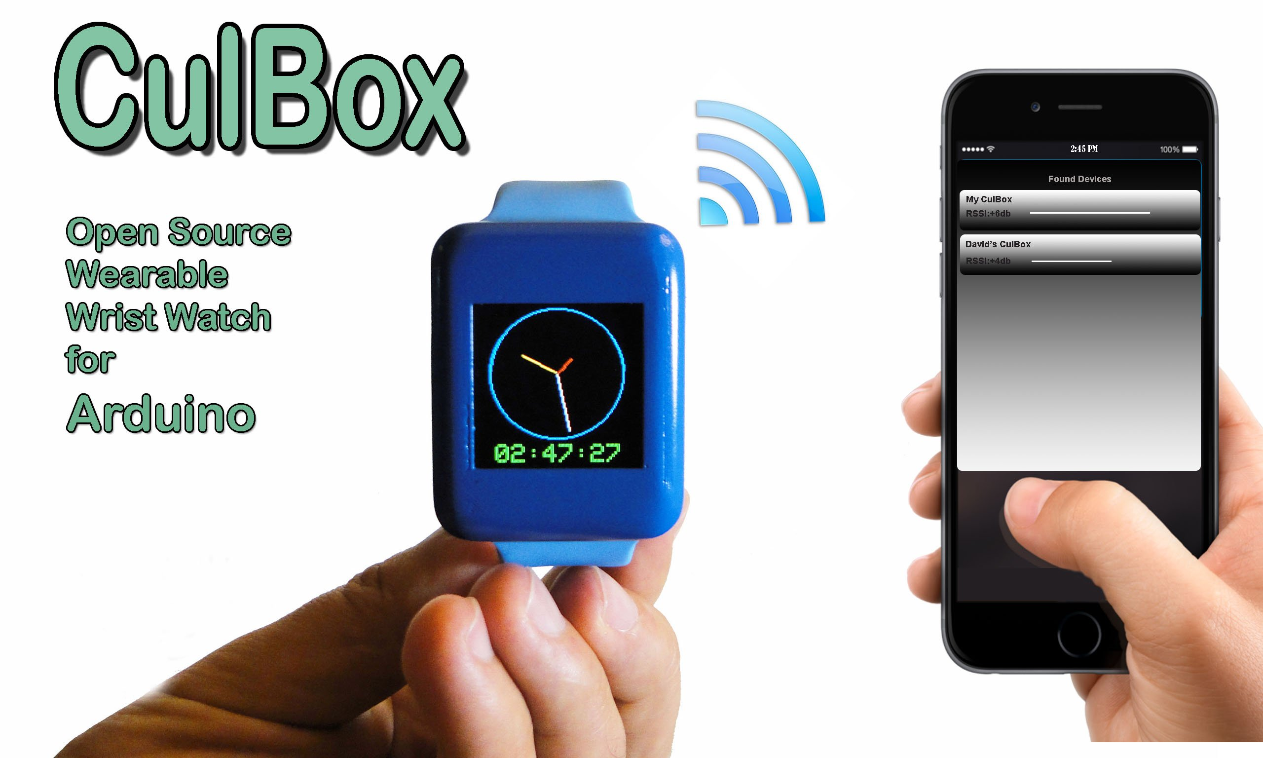 Culbox open source smart watch for arduino from