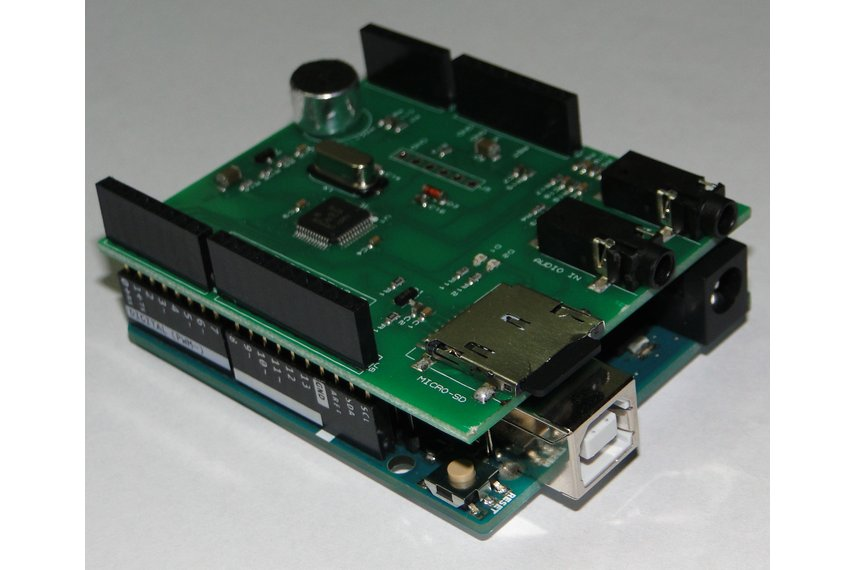 SoundDuino , Audio Shield for Arduino