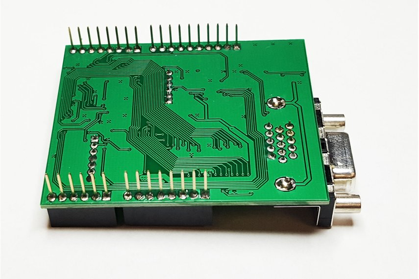 VGADuino-II 256 Color VGA shield for Arduino