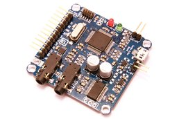 Cortex-M4 audio effects development board