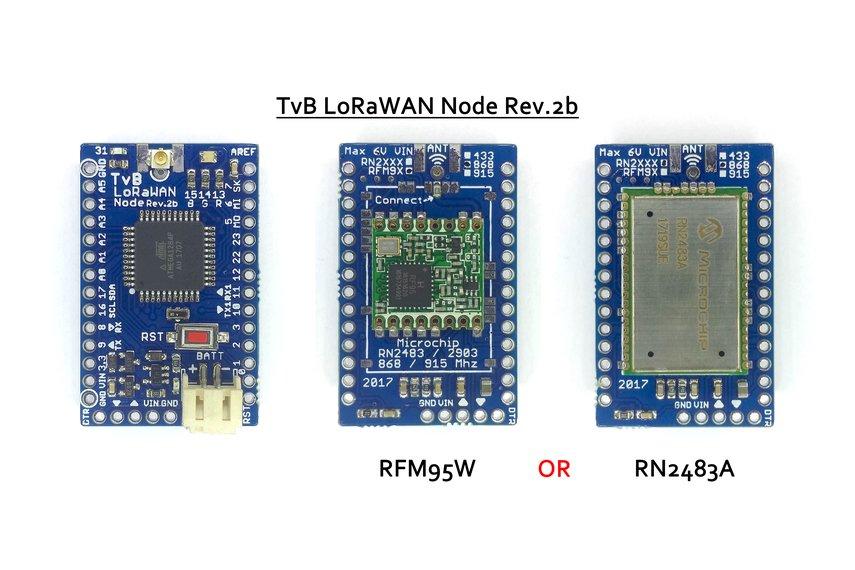 TvB LoRaWAN Node Rev.2b