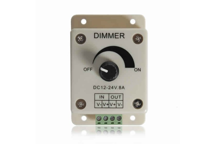 LED Light Dimmer Brightness Adjustable Control