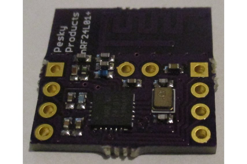 nRF24L01+ add-on for Teensy 3.1