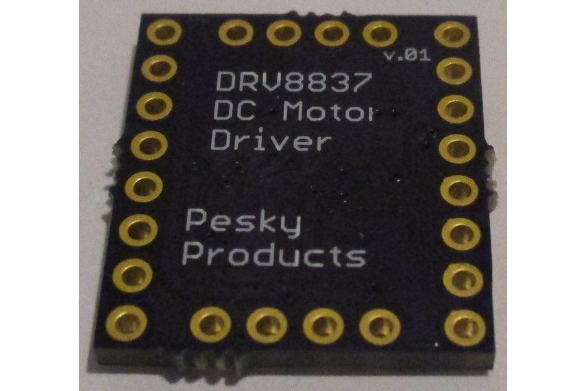 DRV8837 H-Bridge DC Motor Driver