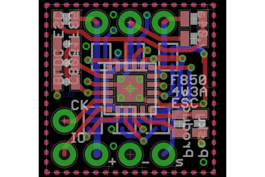 ESC for BLDC motors
