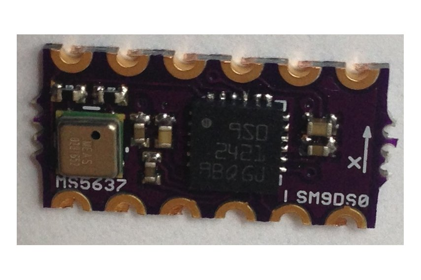 LSM9DS0 Teensy 3.X Micro Shield