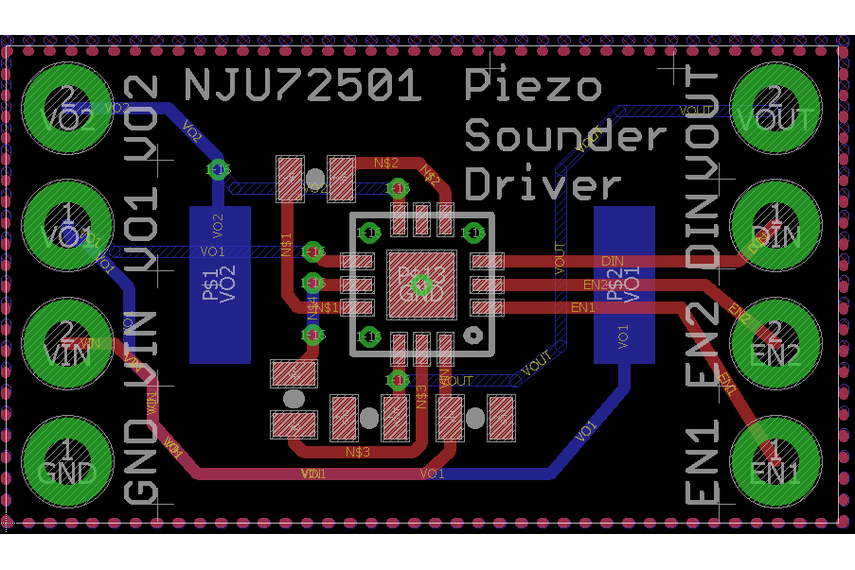 Piezo Sounder Test Board