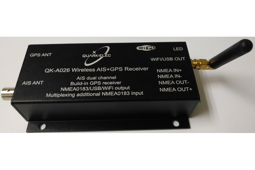 QK-A026 Wireless AIS+GPS Receiver