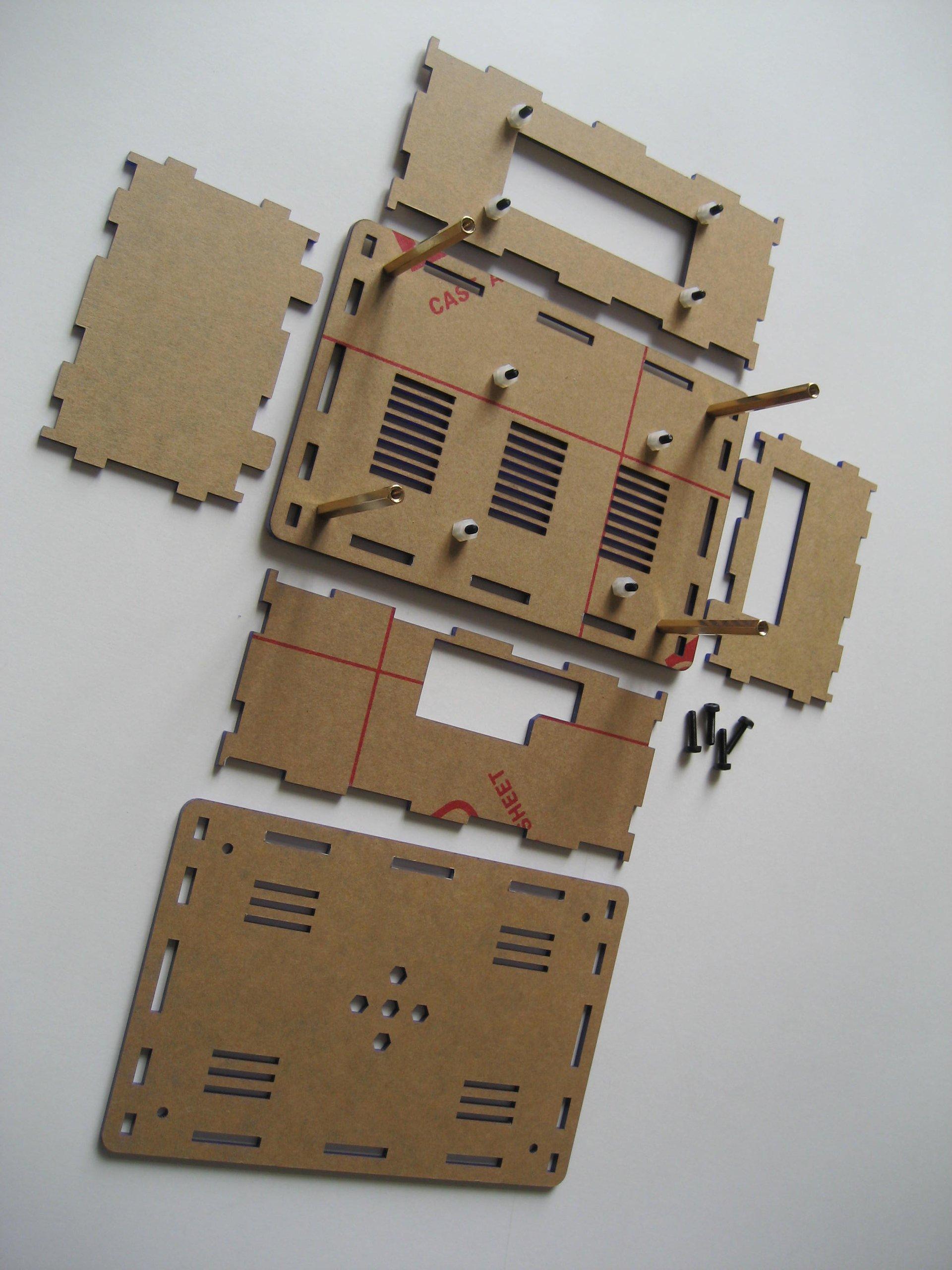 Raspberry Pi Liv Pi Case For Rpi Model 3 2 B From